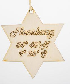 Holzanhänger Koordinaten Flensburg